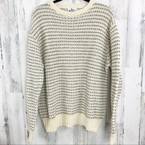 Oversized Woolrich Wool sweater